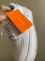 Título do anúncio: Tenis Nike Air force 1 shadow Branco Novo