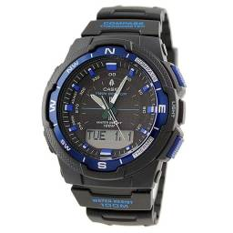 Título do anúncio: Relógio Masculino novo Casio SGW-500H-2BVDR - Medidor de temperatura, Bússola, calendário