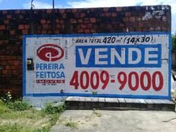 Terreno à venda, 420 m² por R$ 150.000 - Turu - São Luís/MA
