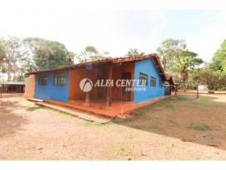 Chácara com 4 dormitórios para alugar, 4500 m² por r$ 1.200/mês - chácaras califórnia - go
