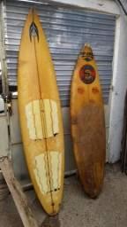 Prancha de surf usada