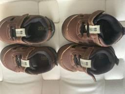 Sapatos meninos tam 18