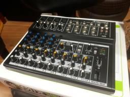 Mesa De Som Mackie Mix12fx 12 Canais