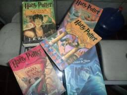 5 Livros Originais do Harry Potter para Fans - Relíquia!!!