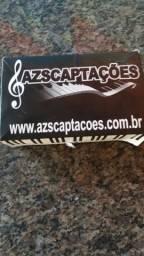 Captação acordeon Azs103 profissional nova tel