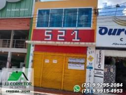 Ponto Comercial no Centro de Serrinha - 105m²