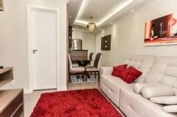 Apartamento 3 quartos mobiliado bairro Xaxim Francisco Derosso com Linha Verde