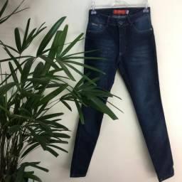 Calça Jeans Skinny Cintura Média   Biotipo   T.38