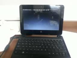 Netbook funcionando porem ñ sobe sistema