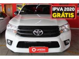 Toyota Hilux 2.8 std 4x4 cd 16v diesel 4p manual - 2017