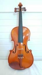 Violino já feita sonorização, mais Brinde.