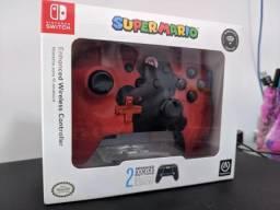 Controle Wireless PowerA para Nintendo Switch - Versão Mario