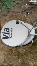 Antenas Via Embratel