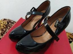 Sapato Vizzano salto alto tamanho 33/34