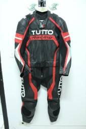 2149 em 10x s/ juros. Macacão Tutto Racing 56 Eur seminovo