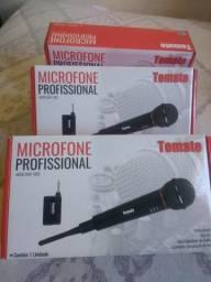 Microfone sem fio profissional/mega promoção