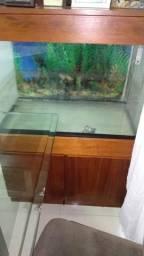 Aquário 200L com armário Embutido