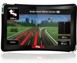 GPS Automotivo Aquarius Guia Quatro Rodas 4.3 Polegadas