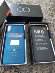 Xiaomi Mi 8 128 gigas cor:cristal blue !