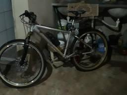 Bicicleta cromada zera barata