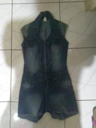 Macacão jeans empório