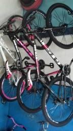 Bicicletas novas abaixo do preço