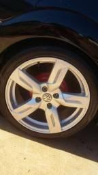 Roda aro 17 pneus 205 45 17