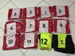 Jogo de camisas de Futebol - NOVO