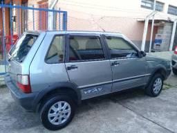 Fiat Uno Mille Way 4 portas - 2011
