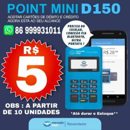 Maquininha Point Mini D150 Bluetooth