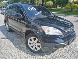 Honda Crv 2009 Lx Blindada n3a aut completíssima+couro+revisadíssima+nova=0km!