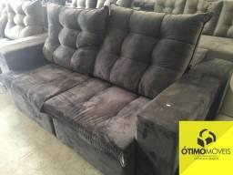Sofá 2.2 retrátil e reclinável R$:2200