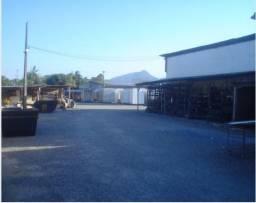 Terreno as margens da BR-101, com 5.766m² Pirabeiraba, com galpão 1.200 m², aceita per.