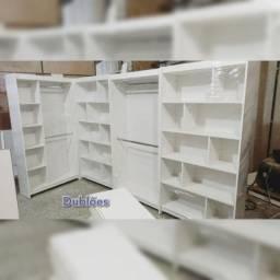 Título do anúncio: Kit Closet com Cabideiros/Araras e Colmeias - NOVO