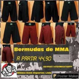 Bermudas Fight Team MMA Adulto e infantil produtos novos e embalados