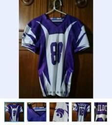 Camisa futebol americano wildcats