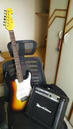 Kit Guitarra Memphis MG32 + Amplificador