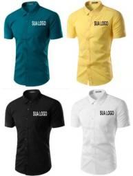 Camisa social para fardamento e uniformes