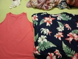 Lote de roupas femininas tamanhos 48