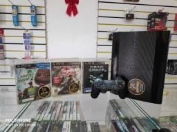 Anubis Games: PS3 super Super Slim de 250 gb com 3 jogos