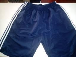 Calças Tactel e shorts