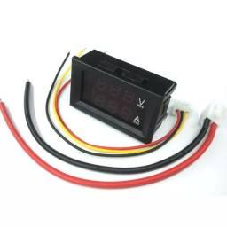 Mini voltímetro/amperímetro digital