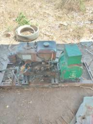 Motor B7 yamar com gerador de 4cv bambozzi