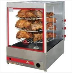 Maquina de assar frango - frangueira - multiuso - 20kg - progás