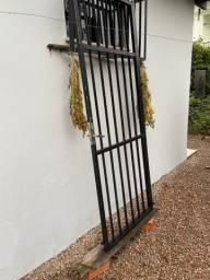 Portão de ferro galvanizado