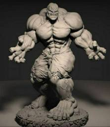 Diorama Hulk Washed