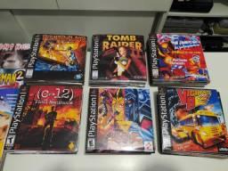 Jogos de PS1 gravados novos