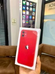 Vermelho lembra Natal @@ iPhone 11 Novo 64 só vem!!!