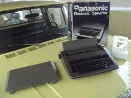 Máquina Escrever Elétrica Panasonic Kx R520 Na Caixa! Gl
