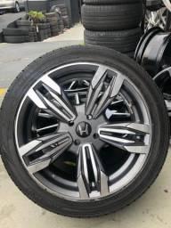 Rodas lindas com pneu ...... IMPERDÍVEL